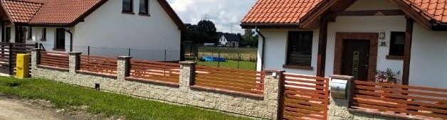 ogrodzenie palisadowe Olsztyn